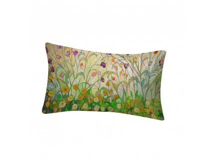 0 30x50 cm Country Style Flower Bird Pattern Waist Pillowcase Printing Bed Home Festival Pillow Cover 45
