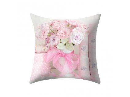 11 Plant Printed Polyester Pillow Case Cover Sofa Cushion Cover 45 45CM Home Decor Throw Pillow Super