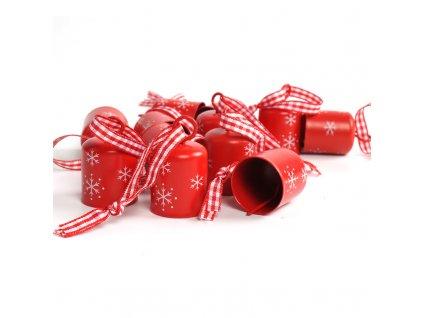 Vánoční smaltovaný zvoneček