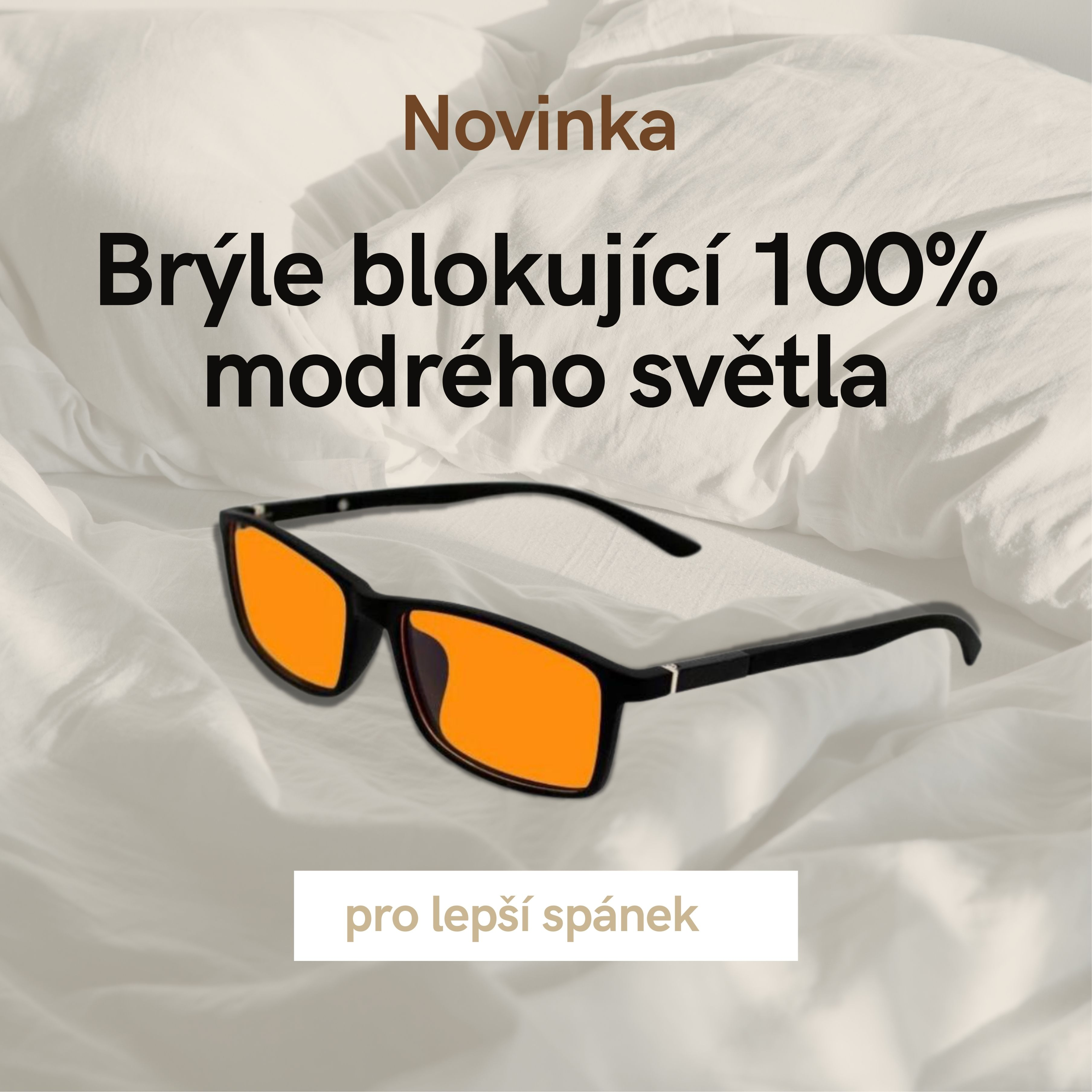 Brýle 100% blokující modré světlo