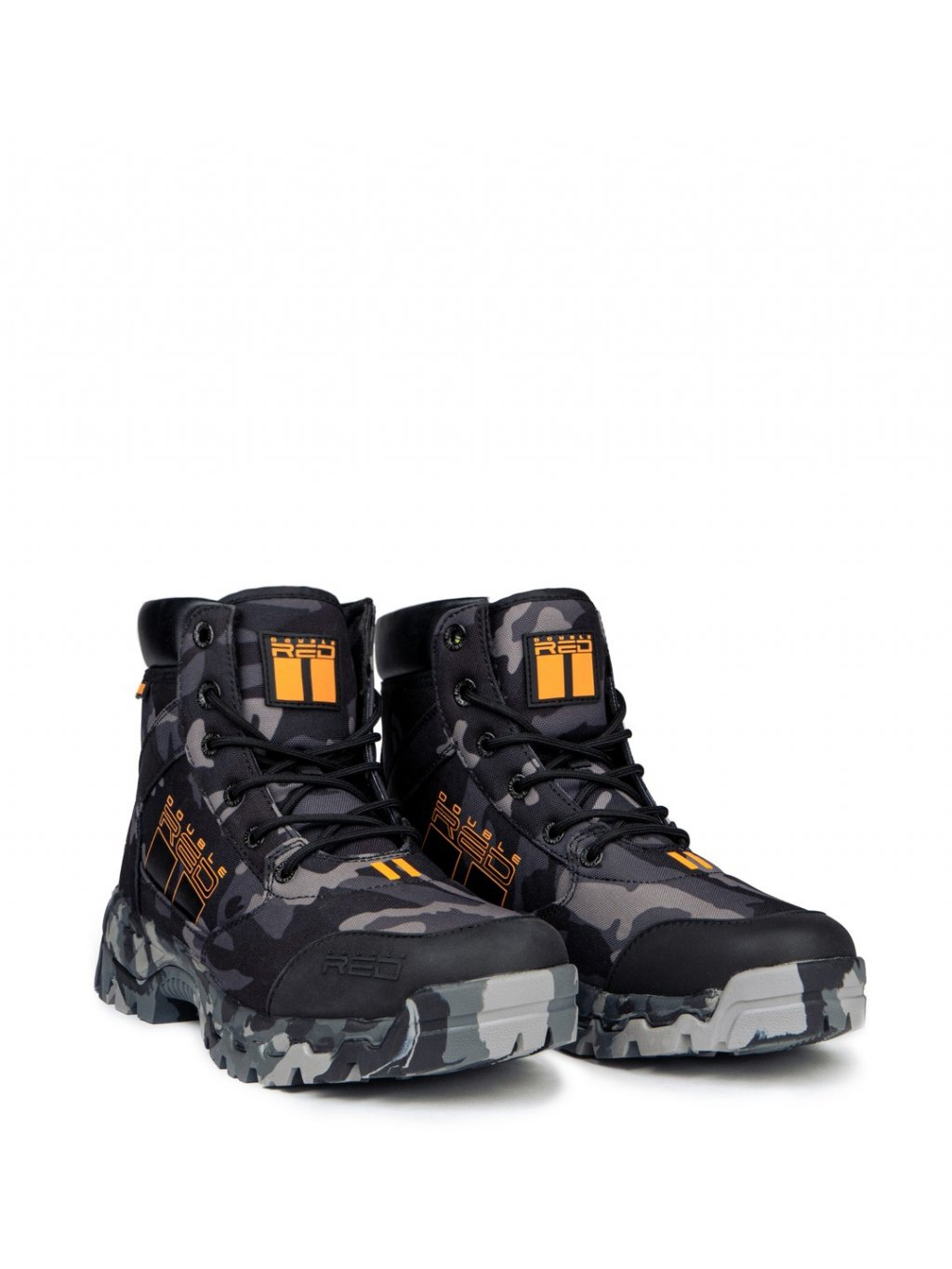 DOUBLE RED Boty ATTACKER BIOHAZARD™ Tactical Boots