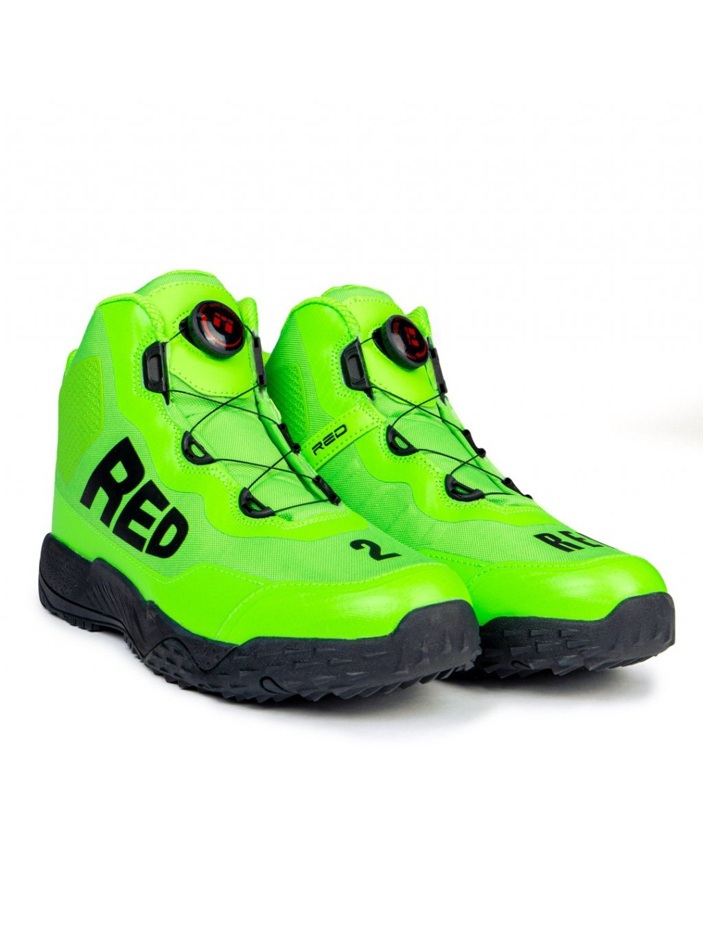 DOUBLE RED Boty Boots WIRE™ Neon Streets Collection