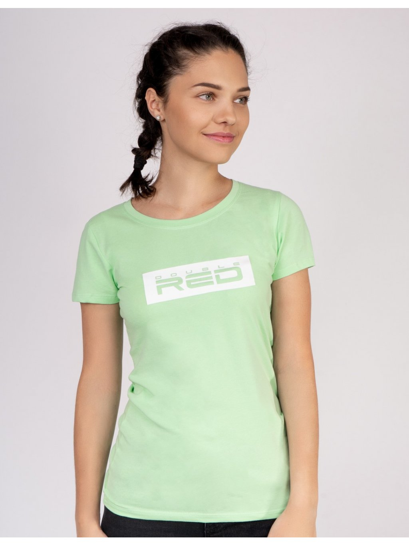 Dámské Tričko DOUBLE RED Women's T-Shirt Basic Green