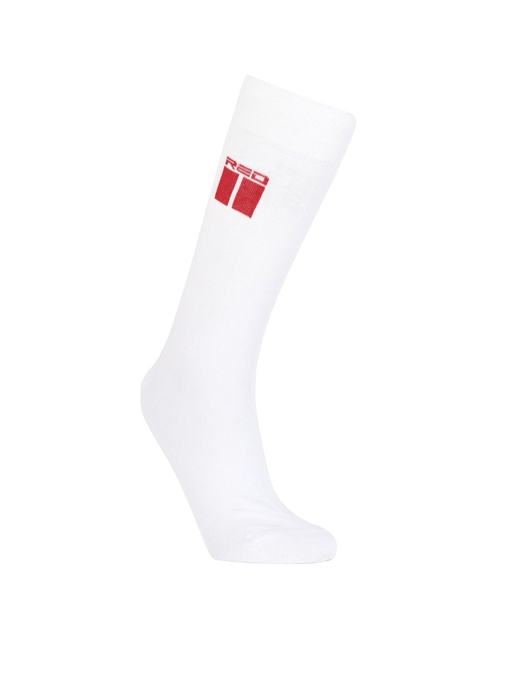 Ponožky DOUBLE RED THE RED SOCKS White