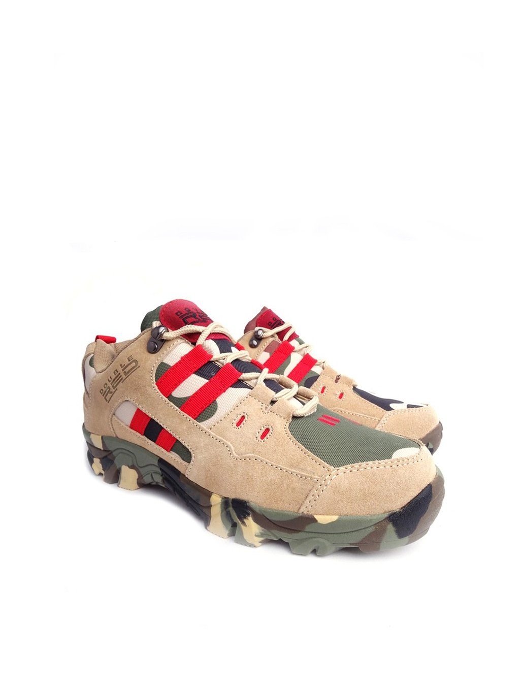 DOUBLE RED Boty Red Hero Soldier Edition Green/Sand