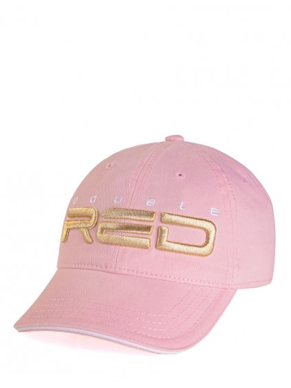 Kšiltovka DOUBLE RED Cap Pink/Gold