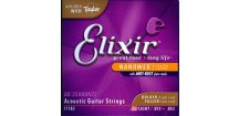 Elixir 11182 – Bronze 80/20 NANOWEB – HD Light (.013 - .053)