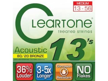 Cleartone 7613 (80/20 Bronze - Medium 13 - 56)