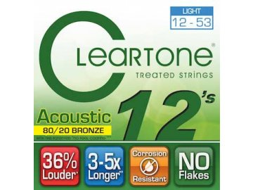 Cleartone 7612 (80/20 Bronze - Light 12 - 53)