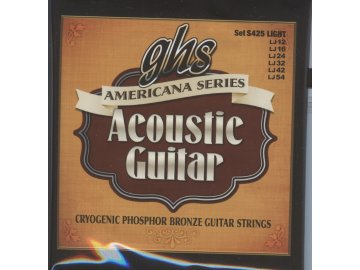 GHS Americana Series - Acoustic Guitar S425 Light