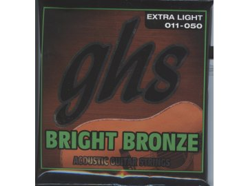 GHS Bright Bronze 80-20 Extra Light 011-050
