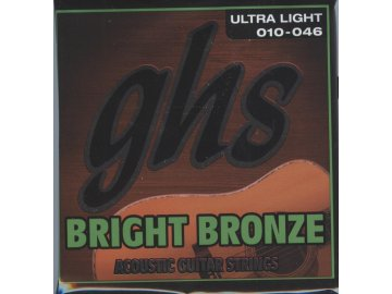GHS Bright Bronze 80-20 Ultra Light 010-046