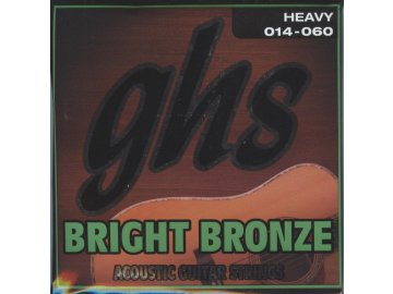 GHS Bright Bronze 80-20 Heavy 014-060