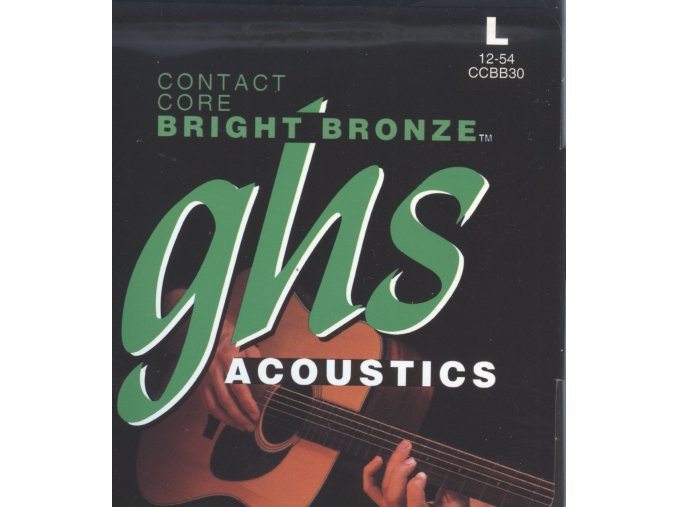 GHS Contact Core Bright Bronze Acoustic 012-054