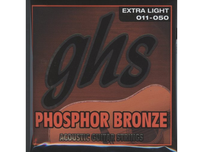 GHS Phosphor Bronze Extra Light 011-050
