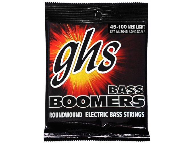 GHS Boomers Medium Light 045-100