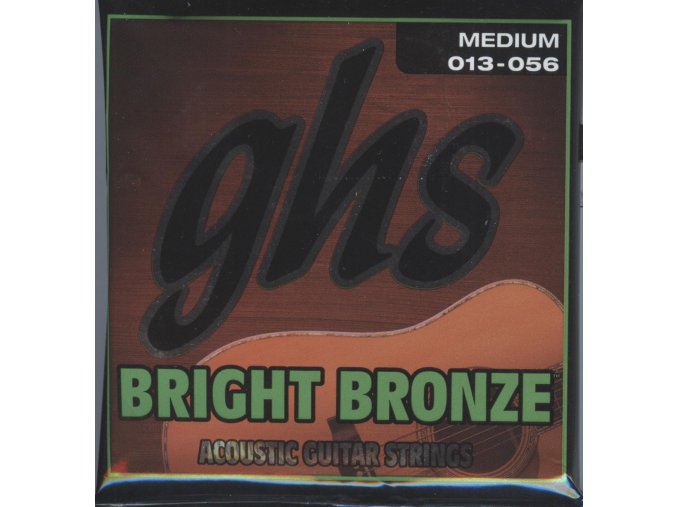 GHS Bright Bronze 80-20 Medium 013-056