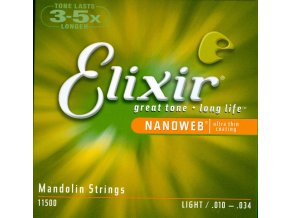 Elixir 11500 Nanoweb  - Light (.010 - .034)