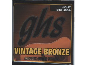 GHS Vintage Bronze Light 012-054