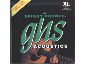 GHS Bright Bronze 80-20 Extra Light 009-042 12 string
