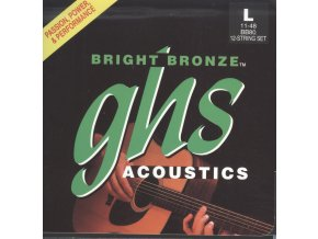 GHS Bright Bronze 80-20 Light 011-048 12 string