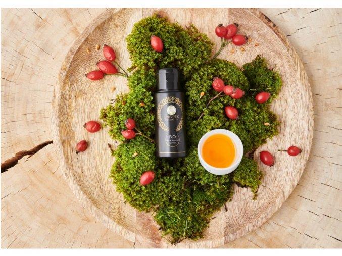57 bio olej ze sipkovych semen biosnopek