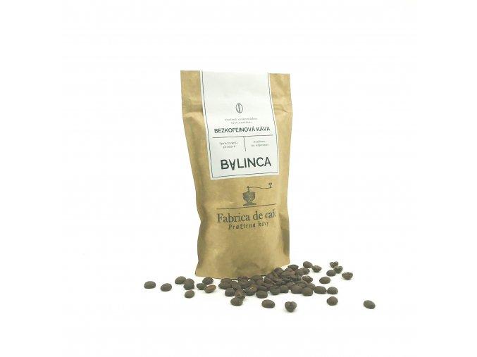 Zrnková káva- Bezkofeinová káva