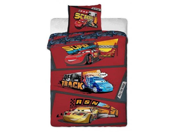 Bavlněné povlečení Cars comics