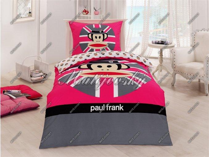 Povlečení Paul Frank Pink Cap