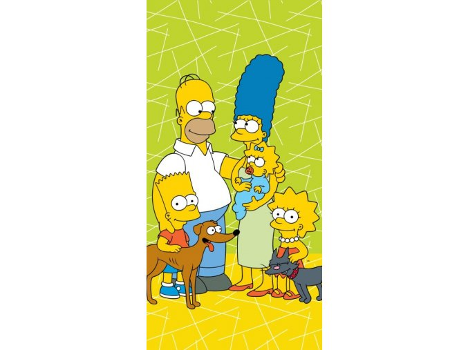 Simpsons family green1