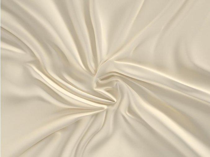 satenove prosteradlo luxury collection 180x200cm smetanove 1 0