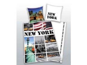 Bavlněné povlečení Herding New York