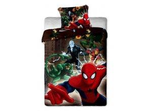 Dětské povlečení Spiderman brown
