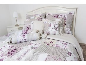 bavlnene povleceni patchwork sedy s kombinaci fial 0.jpg.big
