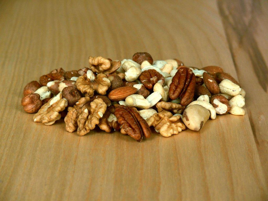 Natural mix - zmes nepražených orechov 500 g