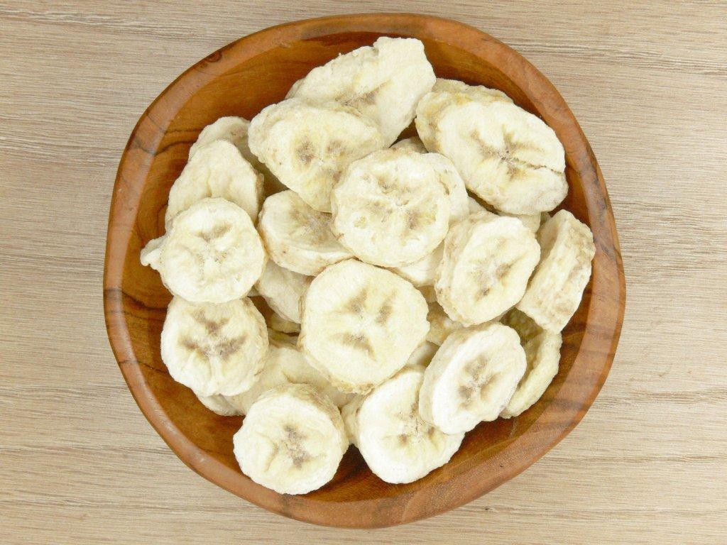 Banán lyofilizovaný