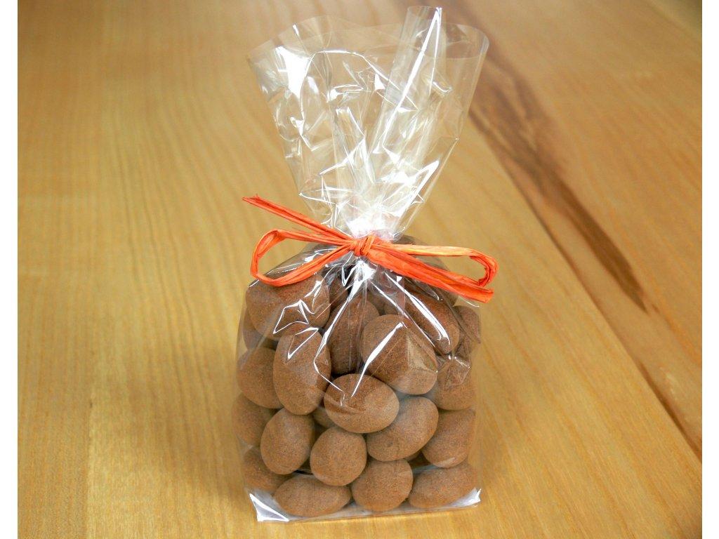 Mandle v čokoláde so škoricou 200g balíček