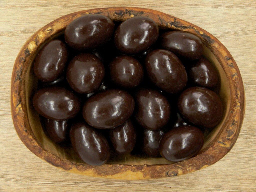 Mandle v horkej čokoláde