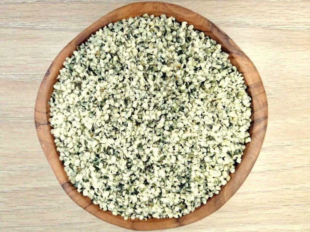 Konopné semienko lúpané