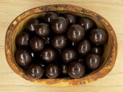 Lieskovce v horkej čokoláde