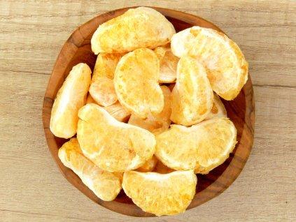mandarínky lyofilizované