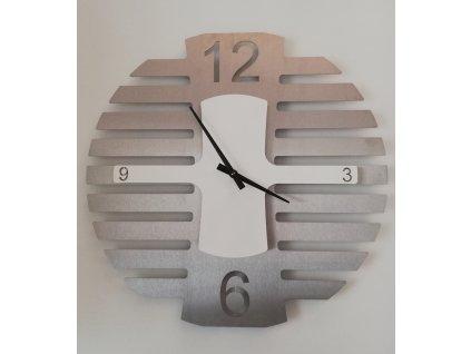 Nerezové hodiny 3b