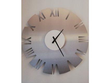 Nerezové hodiny 4b