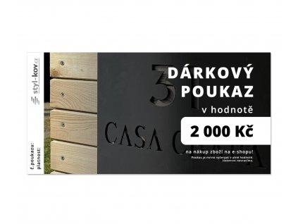 darkový poukaz 2000 1