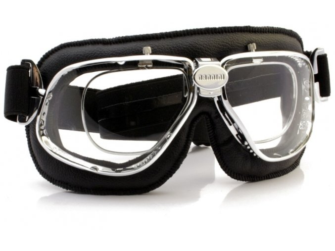 Motocyklové brýle Cruiser 4V s dioptrickým rámečkem