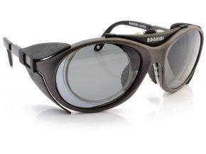 Sluneční sportovní brýle VARILITE 2 gun - šedé polarizační