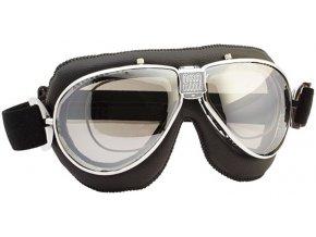 Moto brýle TT 4V s dioptrickým rámečkem