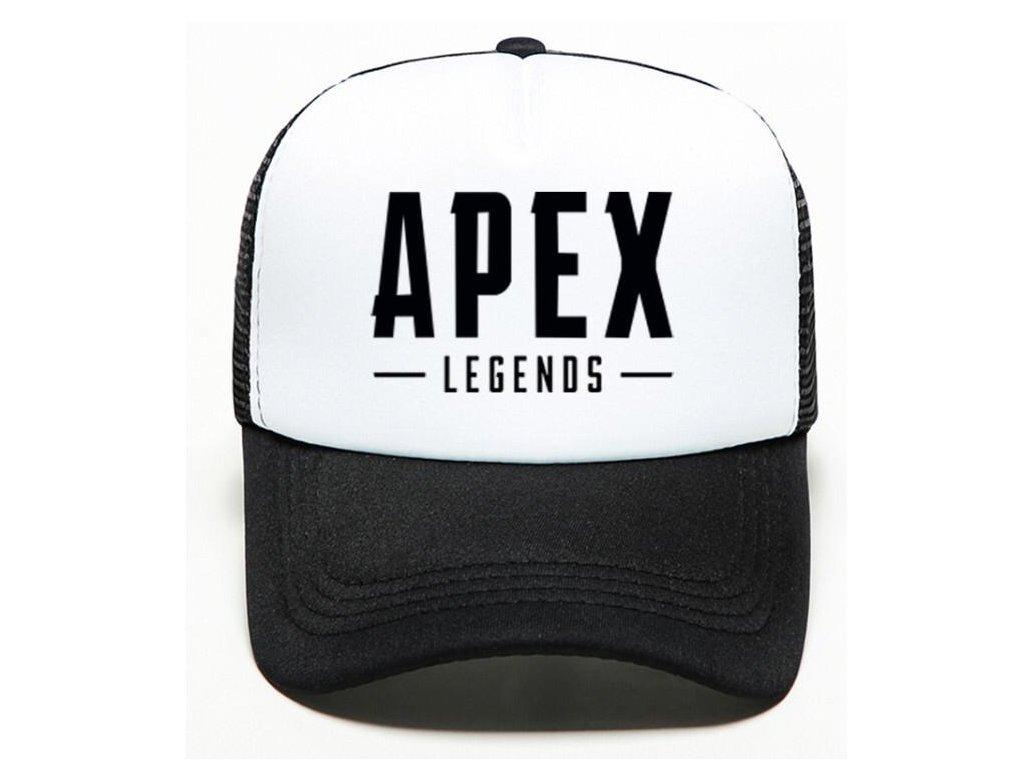 Apex Legends kšiltovka bílá
