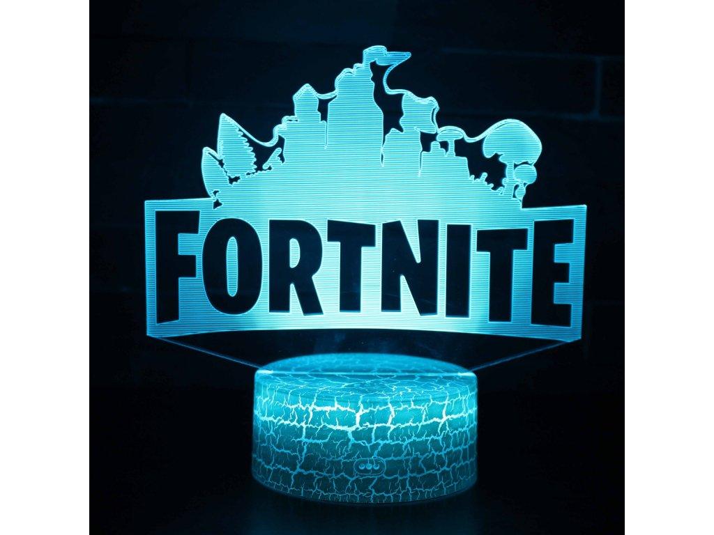Fortnite LED noční světlo logo