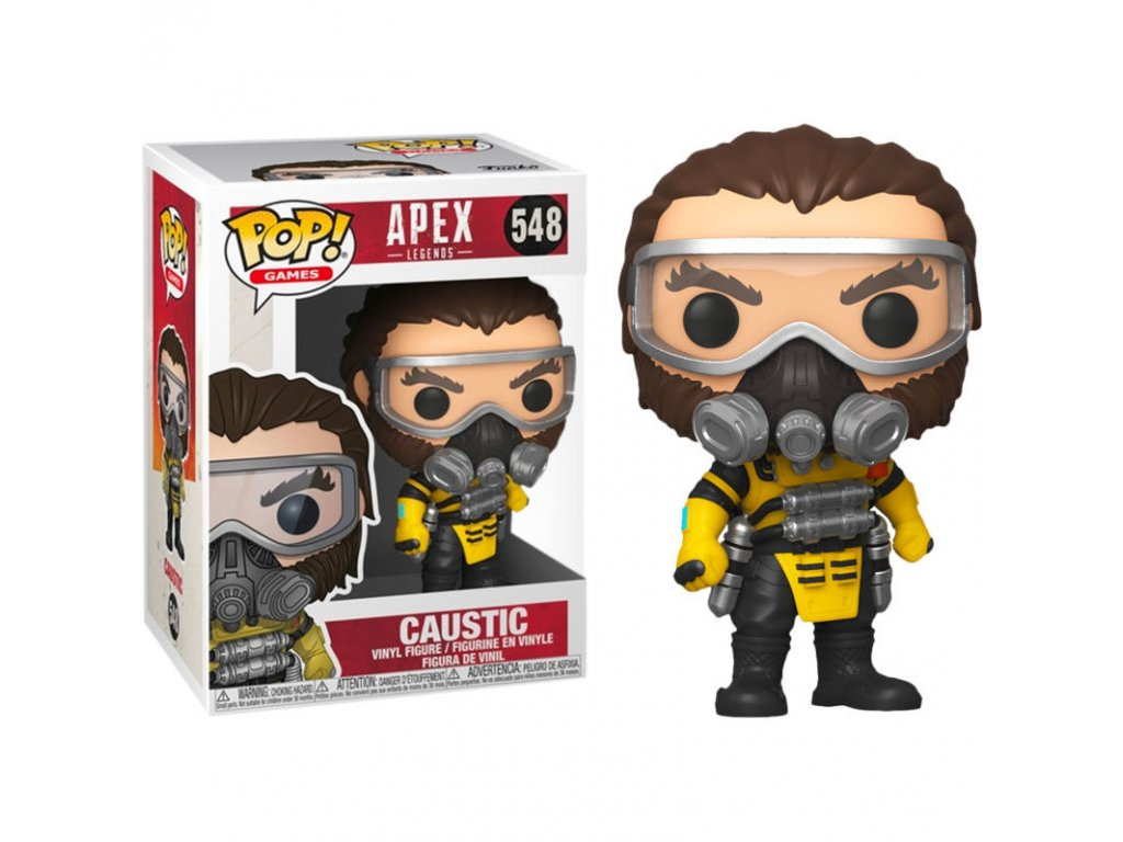Apex Legends Caustic figurka Funko Pop!